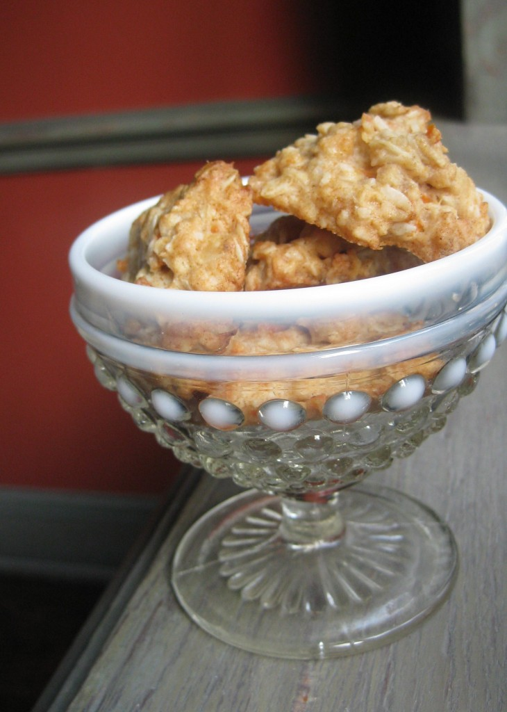Coconut Carrot Ginger Cookies