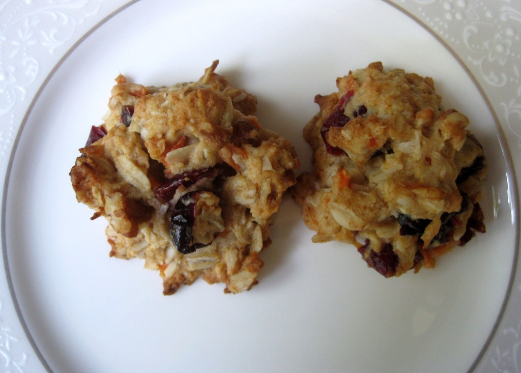 Coconut Carrot Ginger with Cranberries