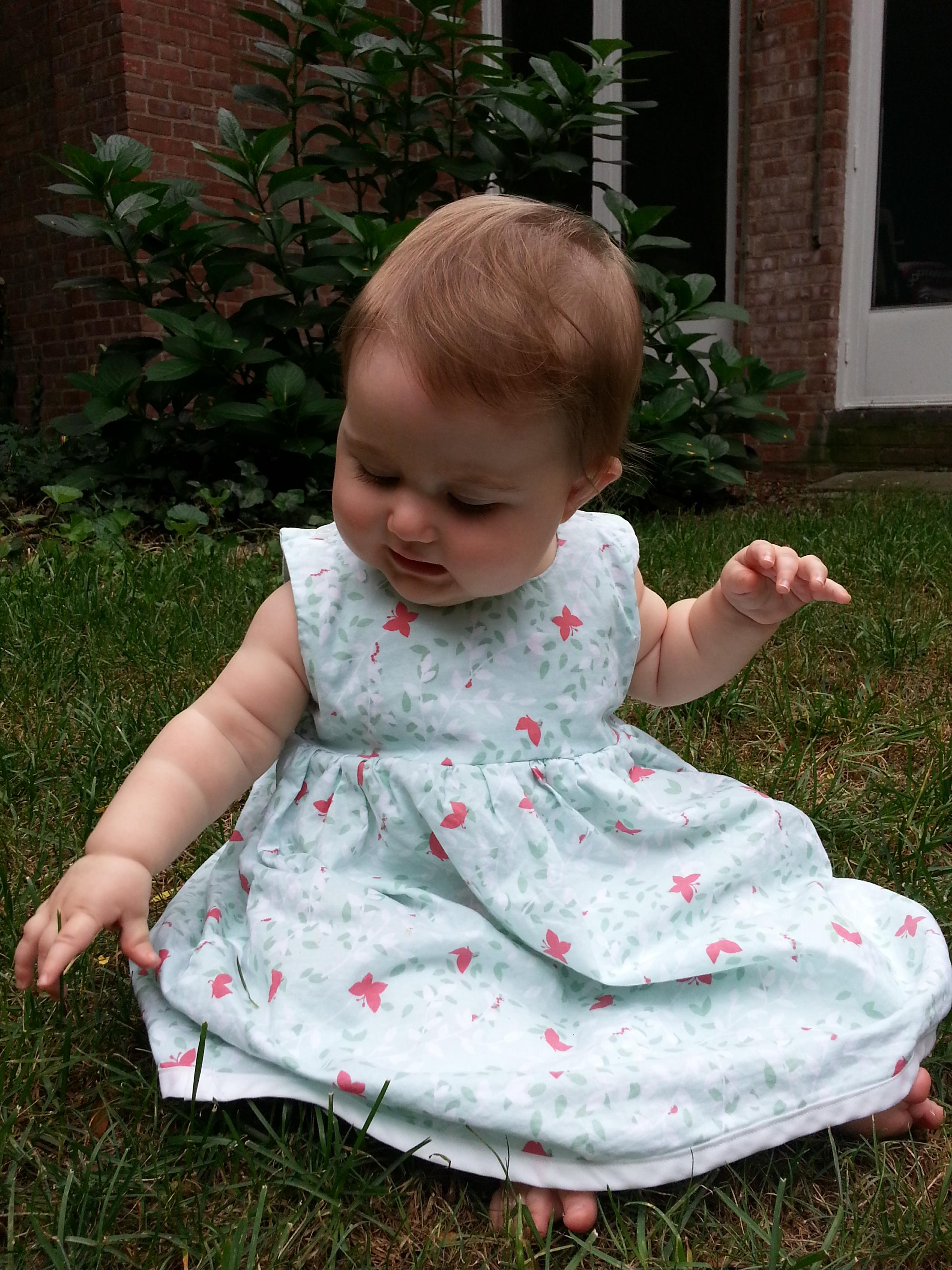 Butterfly Dress KCWC Spring 2012