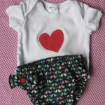 Lovebirds Diaper Cover