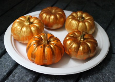 Painted Pumpkins and Guilt-Free Moms