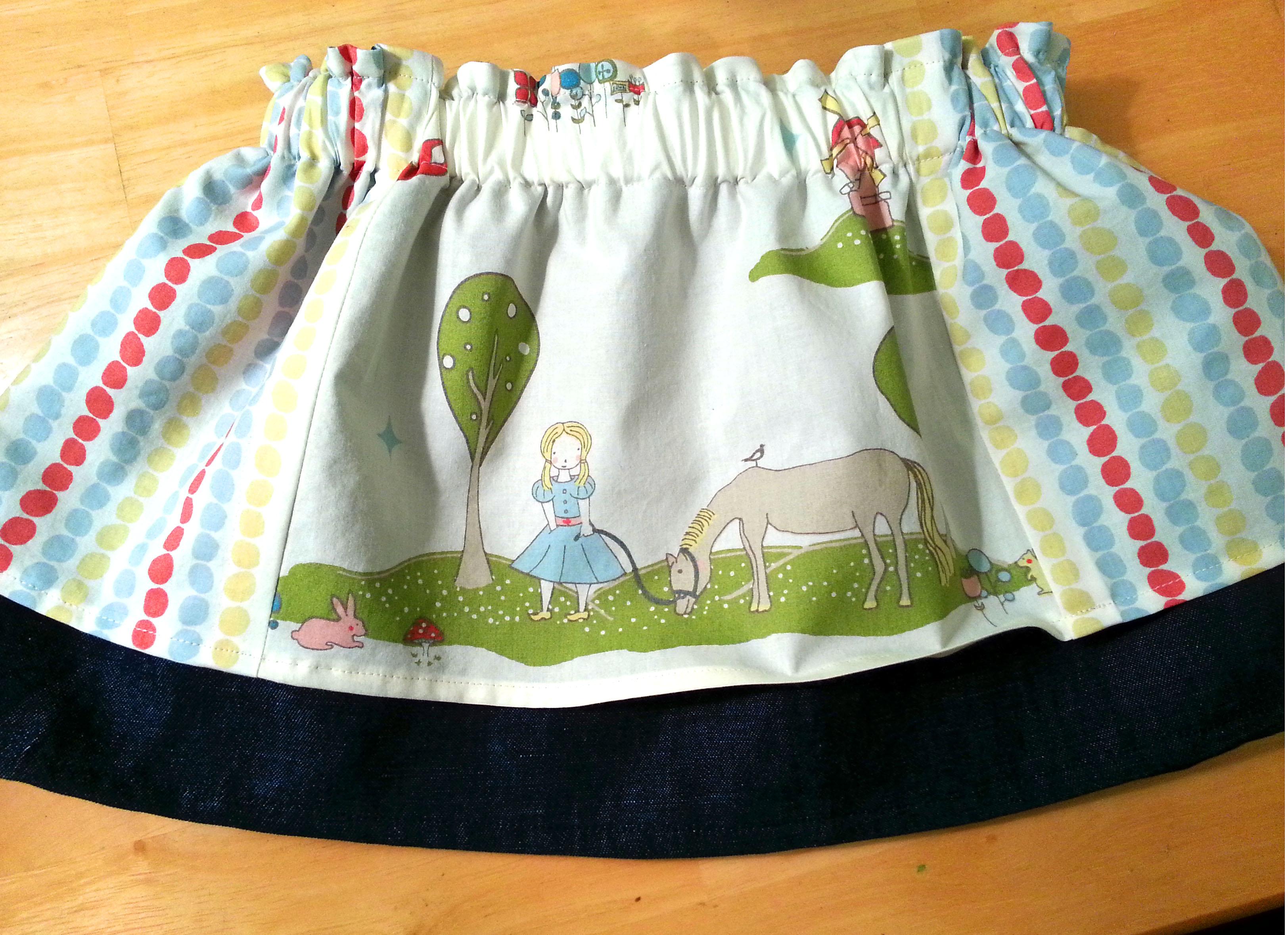 Horsing Around: Birthday Horse Skirt