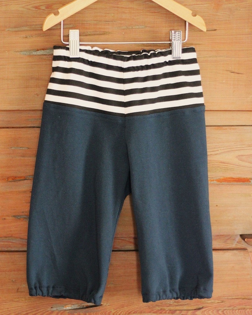 KCW striped top clamdiggers by fromwholecloth