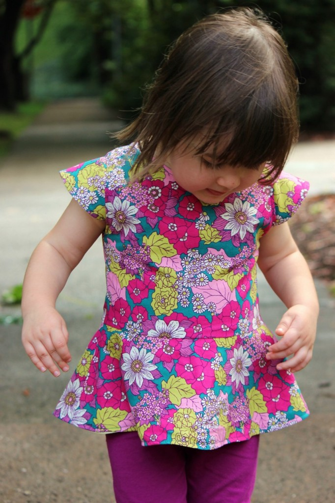 first day dress pattern sewn by #fromwholecloth
