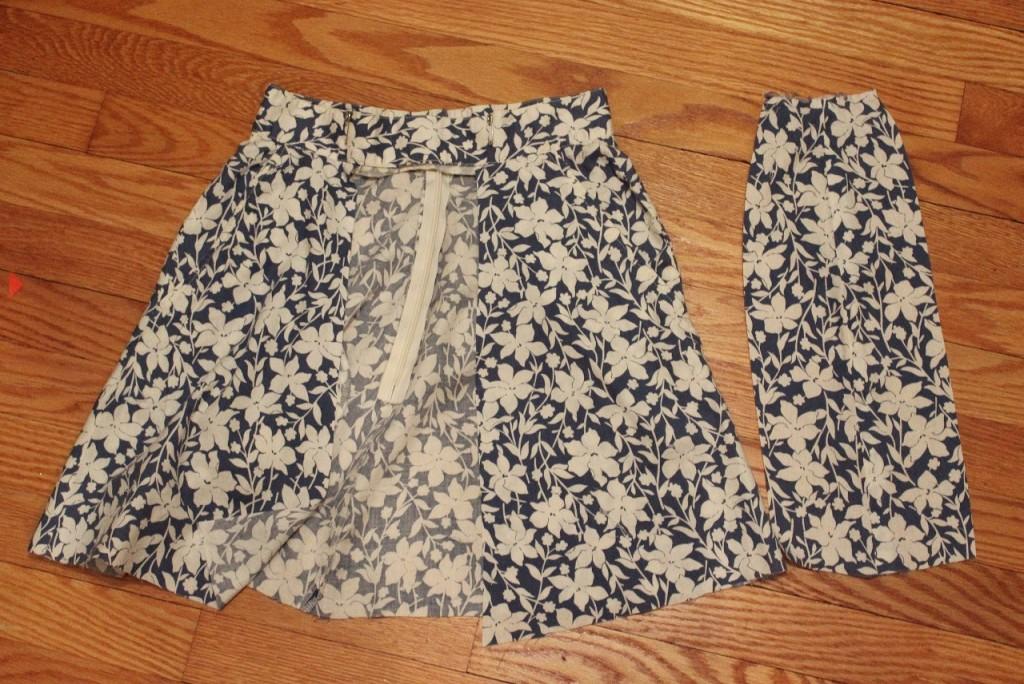 Skirt Front Cut