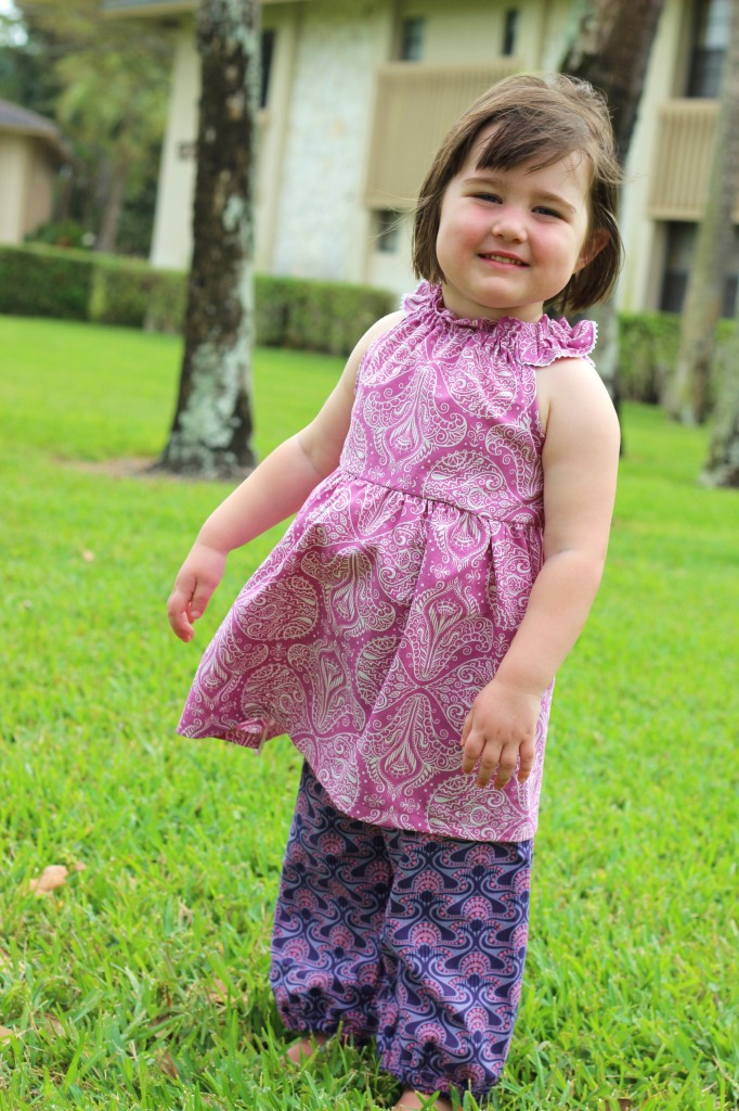 raspberry Nelle Dress fromwholecloth.com