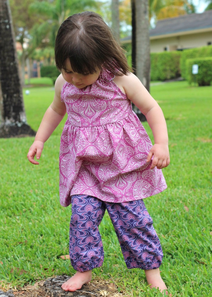 Raspberry Nelle Dress by fromwholecloth.com; pattern by browniegoose