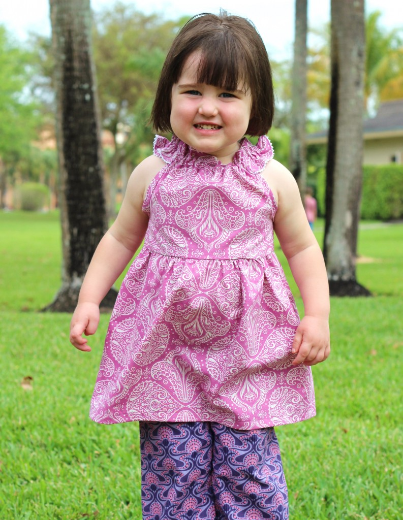 Nelle Dress by fromwholecloth.com; pattern by brownie-goose