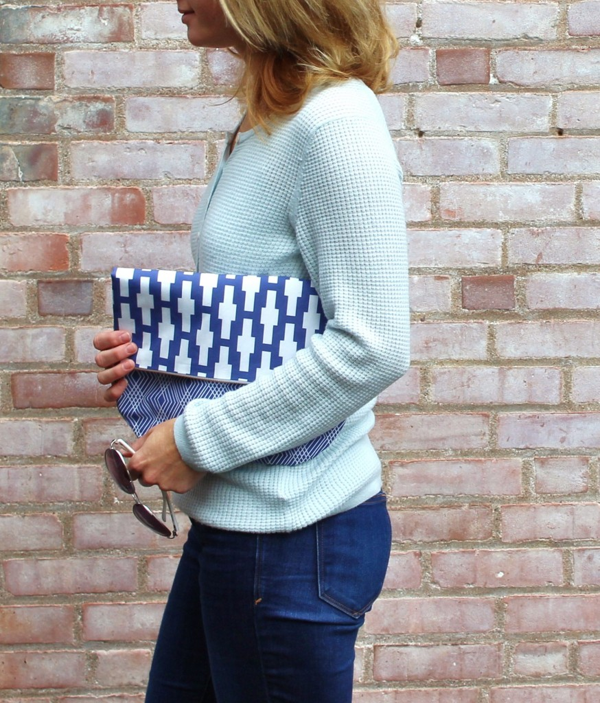 Geometric Clutch by fromwholecloth.com