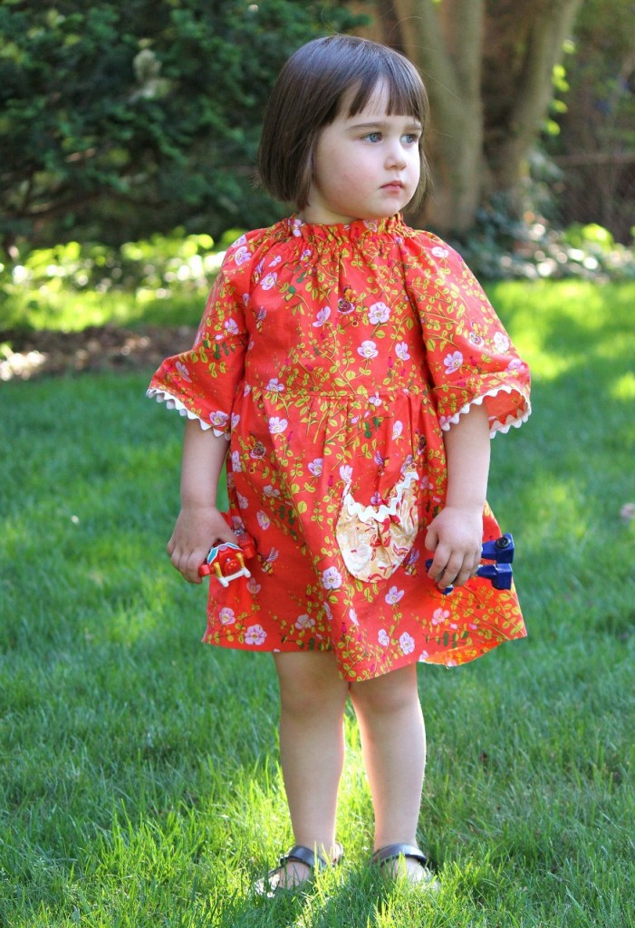 Betsy's Dress, a pattern by #browniegoose, sewn by fromwholecloth.com