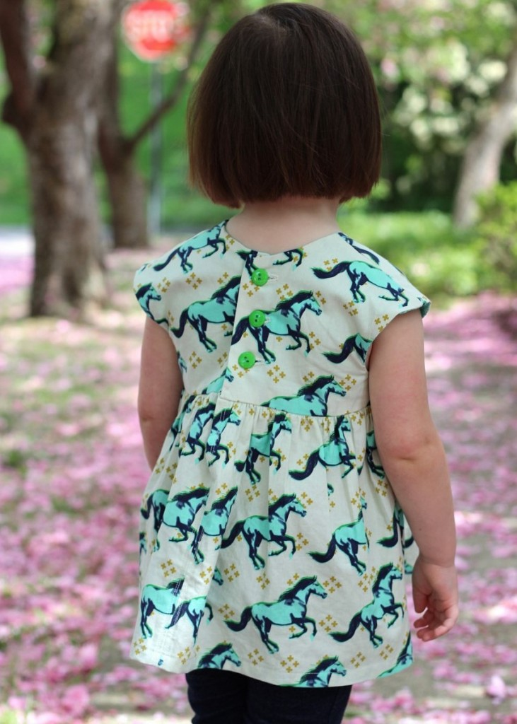 Horse Geranium Top, pattern by Made by Rae, sewn by #fromwholecloth, fabric by Cotton + Steel