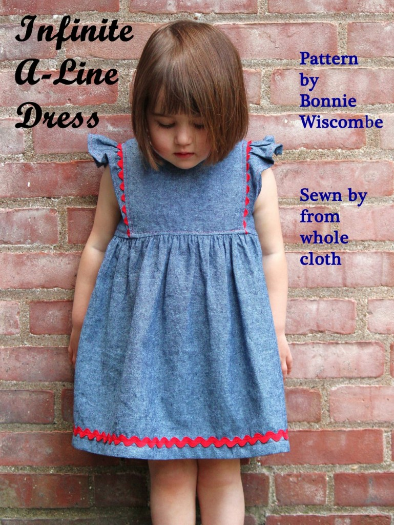 Infinite A-Line Dress, pattern by Bonnie Wiscombe of whiskem.com, sewn by fromwholecloth.com