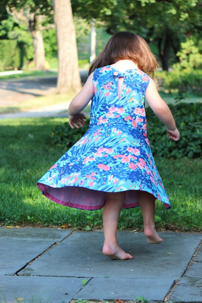 First Day Dress Pattern by MADE, sewn by fromwholecloth.com