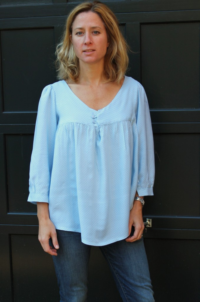 Valley Blouse in rayon challis