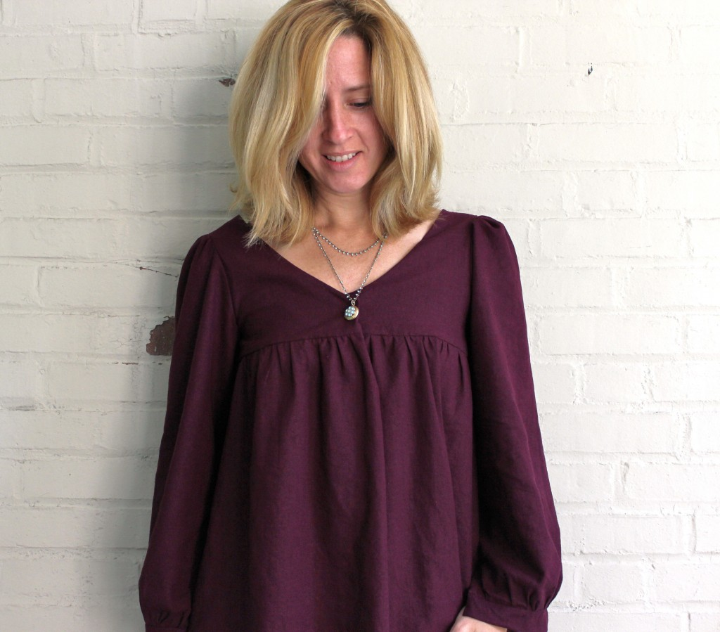 Valley Blouse sewing pattern