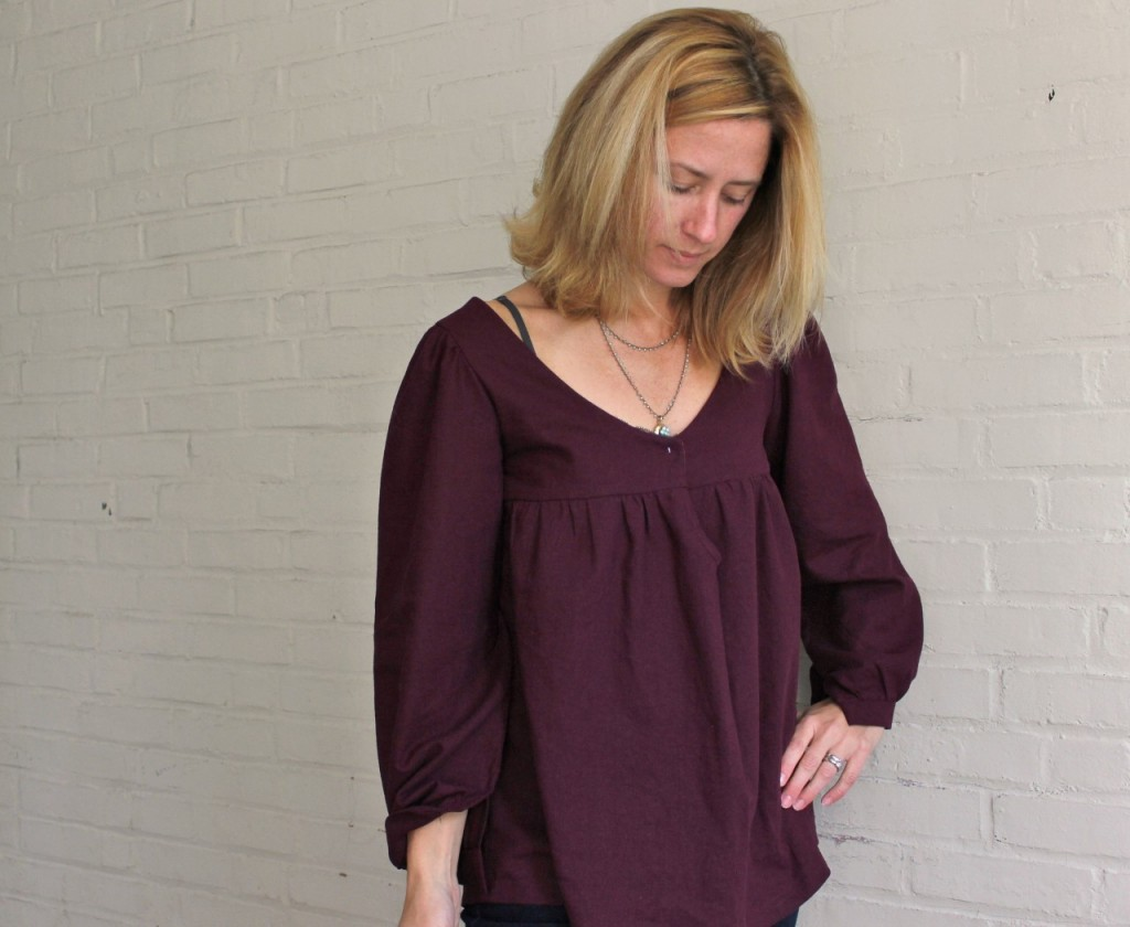 Valley Blouse women's sewing pattern