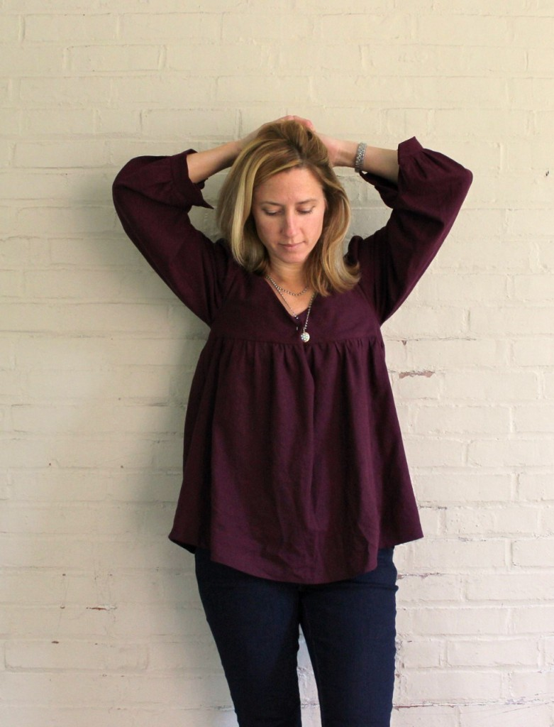 Valley Blouse by Cali Faye Collection