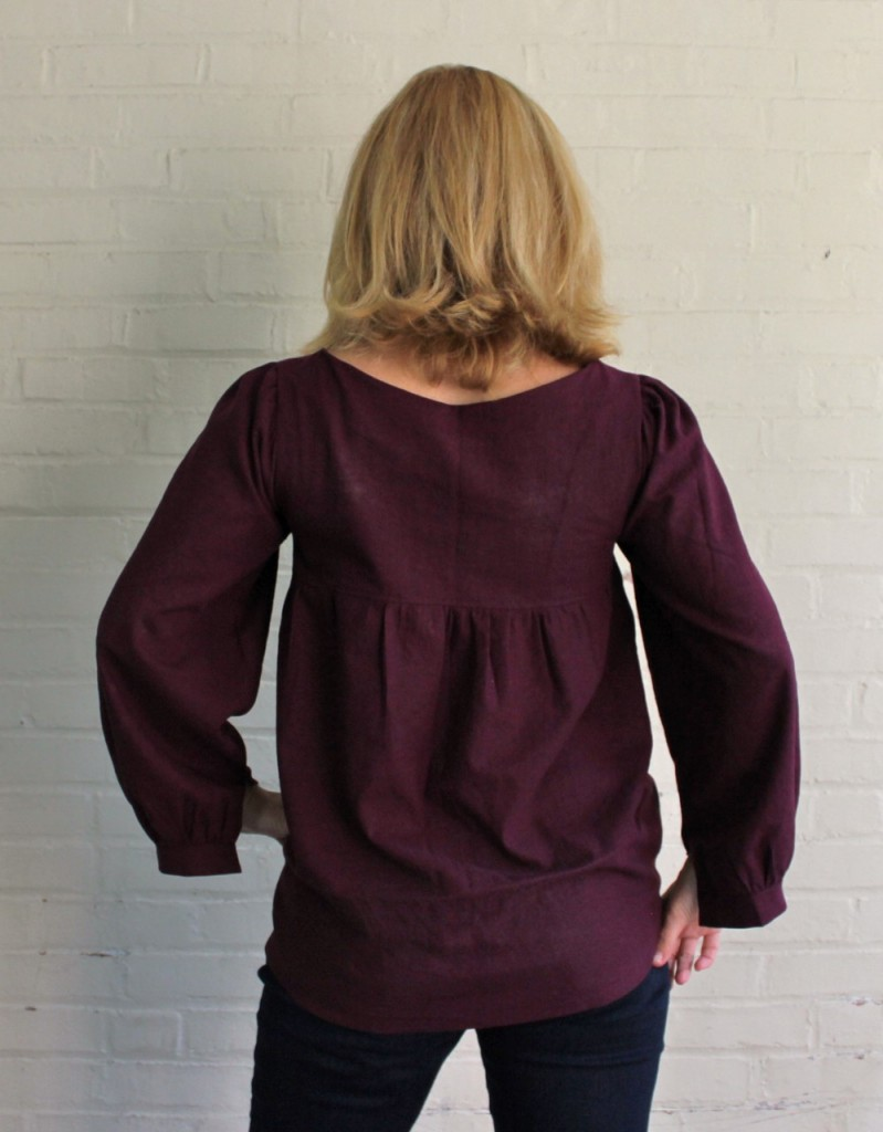Valley Blouse back view